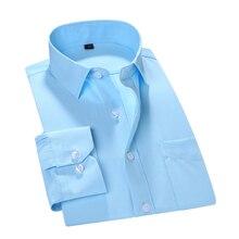 MACROSEA Мужская одежда для работы/офиса брендовая одежда с длинным рукавом формальная мужская одежда рубашки мужские рубашки для отдыха приталенный дизайн