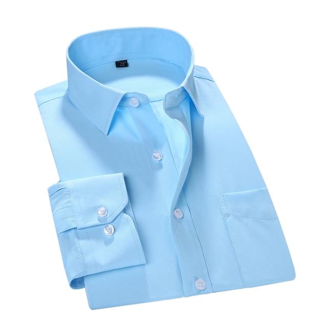 MACROSEA 2017 Men Work/Office Wear Clothes Brand Long Sleeve Formal Men Dress Shirts Men Social shirts Slim Fit Design
