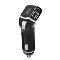 Новый Беспроводной 2 в 1 автомобильный комплект MP3 плеер громкой связи Беспроводной fm-передатчик автомобильное Зарядное устройство для