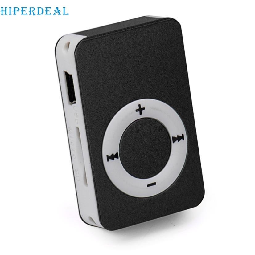 Hiperdeal Mini Clip Mp3 Player Mit Micro Tf/sd Card Slot Sport Mini Mp3 Musik-player Unterstützung 8 Gb Micro Sd/tf Karte # T Unterhaltungselektronik
