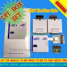 Gsmjustcct UFi Box leistungsstarke EMMC Service Tool Lesen EMMC benutzer daten, reparatur, größe, format, löschen, schreiben update firmware EMMC