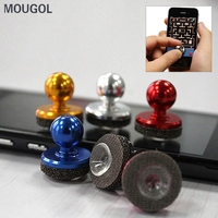 MOUGOL 1Pcs Small Size Phone Accessories Stick Game Joystick Joypad Mini Rocker For iPhone for Pad Touch Screen Mobile phone