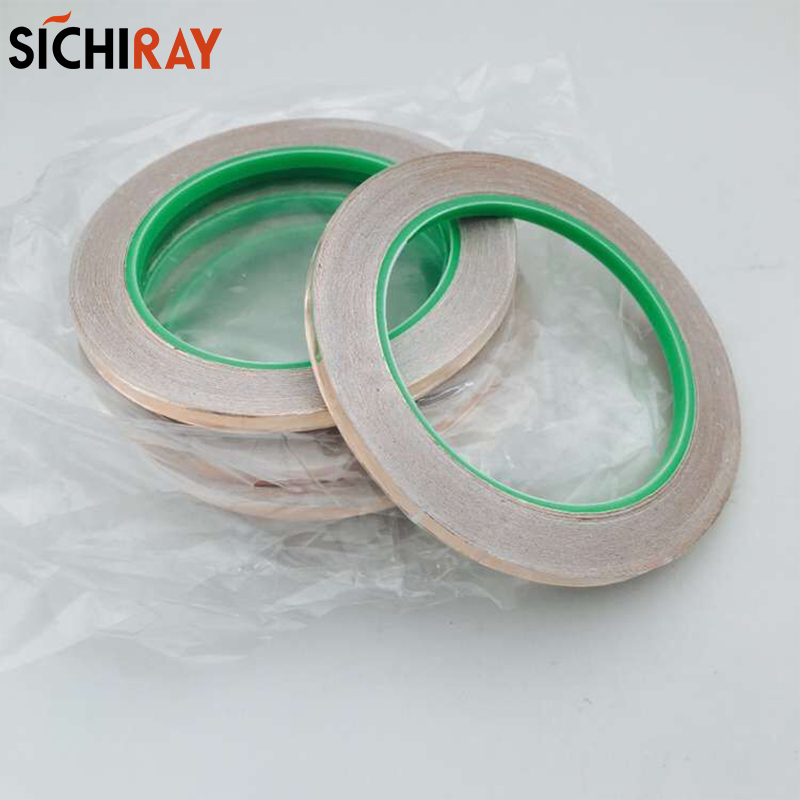 цена на Copper Tape Double-sided conductive Adolescent science education DIY electronics SMT circuit course materials package parts