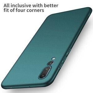 Image 5 - Para huawei p20 pro p30 pro case, capa de celular ultrafina minimalista, fina, protetora, traseira, para huawei p20 lite