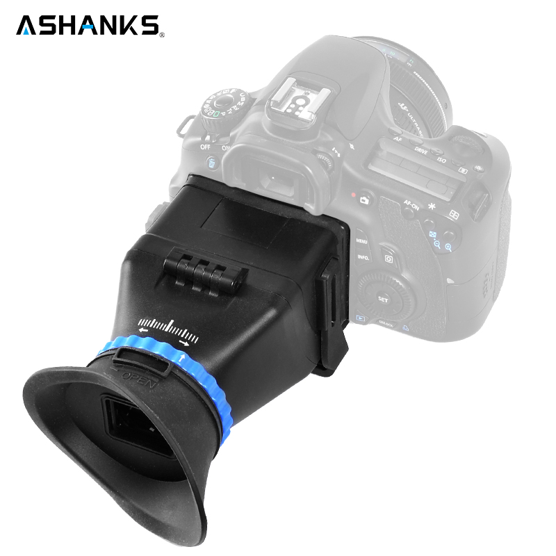 ASHANKS 5D3 5D2 SLR 3 inch 3.2 inch flip LCD screen 3 magnification viewfinder goggles for Canon for Nikon free shipping free shipping original digital camera viewfinder for nikon d3100 view finder with inside lcd and focusing screen replacement