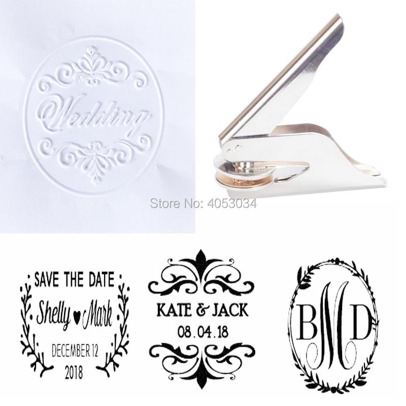 Wedding Embosser, Custom address Embosser stamp,wedding embosser,Custom Monogram Embosser name embosser,Personalized Embosser