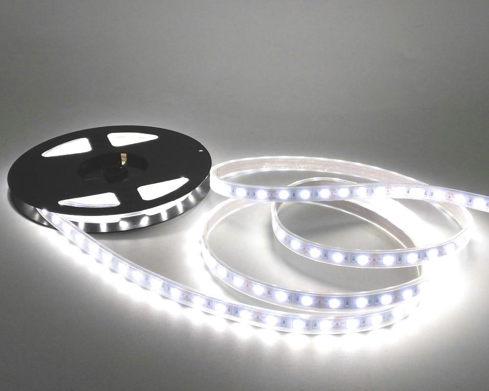 IP67 Suya davamlı 5050 LED Strip DC12V 60 LED / M Yüksək - LED işıqlandırma - Fotoqrafiya 5