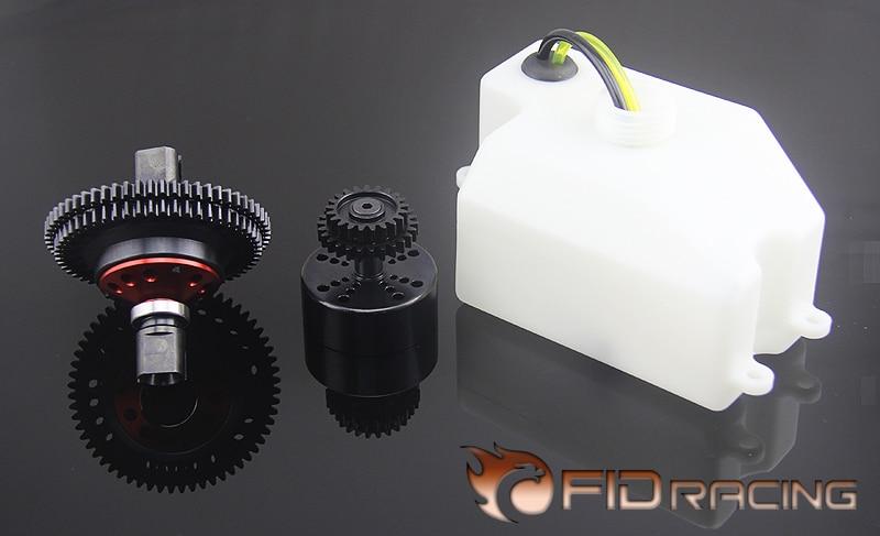 FID RACING 2 Speed transmissie met 870ml brandstoftank voor losi dbxl buggy-in Onderdelen & accessoires van Speelgoed & Hobbies op  Groep 1