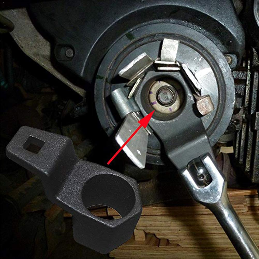 New Style Crankshaft Crank Pulley Wrench Holder Tool 50mm Removal Holding Spanner Fit For Honda & Acura