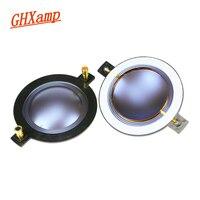 GHXAMP 72.2 ミリメートルツイーター音声コイルブルーダイヤフラムと高音ボイスコイル列アルミラウンド銅線スピーカー修理 2 個