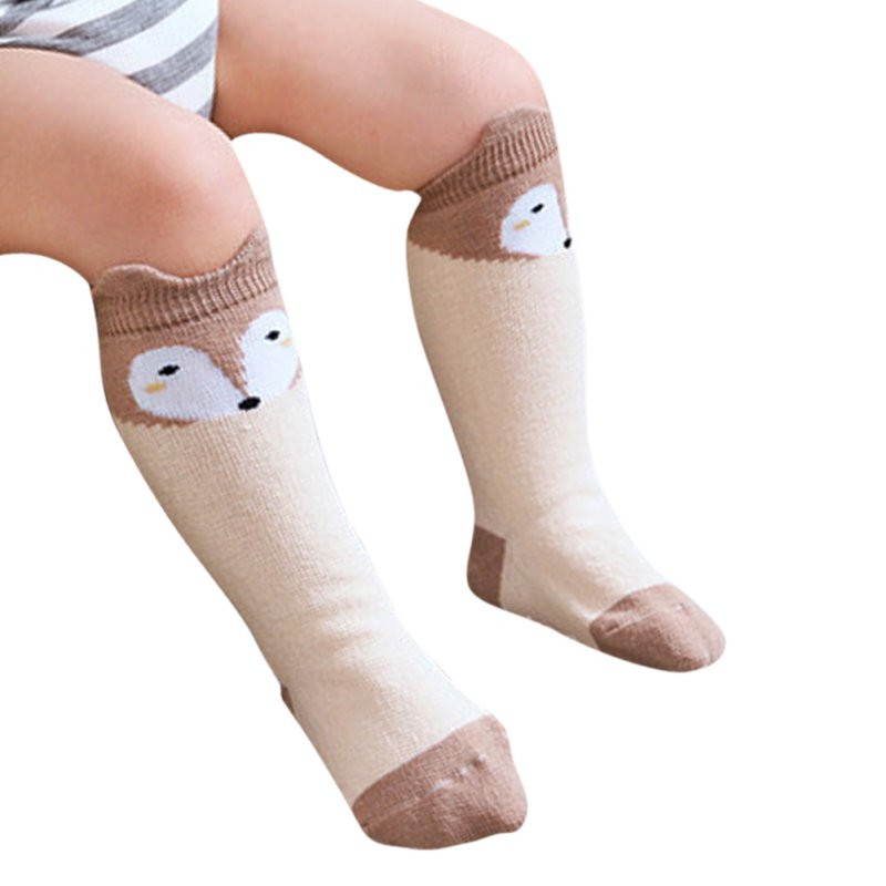 2017-Spring-Autumn-Fashion-1-Pair-Newborn-0-4-Years-Kids-Girl-Boy-Animal-Pattern-Anti-slip-Knee-High-Baby-Socks-LL7-2