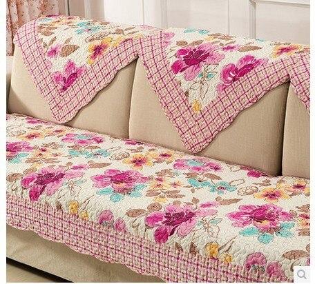 New arrival HUAMU sofa cover set romatic countryside design 100