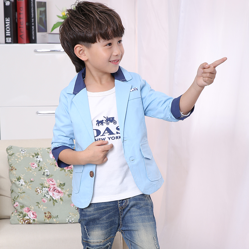 2018 New Boys kids Fashion Children   Style Coat Kids Leisure Suit Coat Formal Slim Outerwear black Color jacket2018 New Boys kids Fashion Children   Style Coat Kids Leisure Suit Coat Formal Slim Outerwear black Color jacket