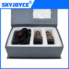 SKYJOYCE 2018 NEW 1 Set 2*80W160W H8 LED Marker Angel Eyes LED Chips 4000LM White 7000K for E92 X5 E71 X6 E82 M3 LED Marker