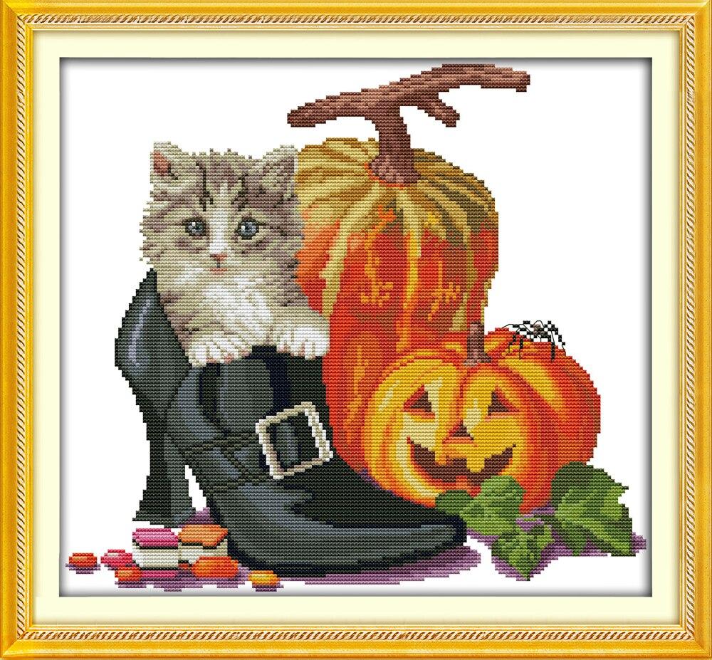 Halloween-Sew Colección divertida Calabaza Coser Novedad vestirla Craft Botones