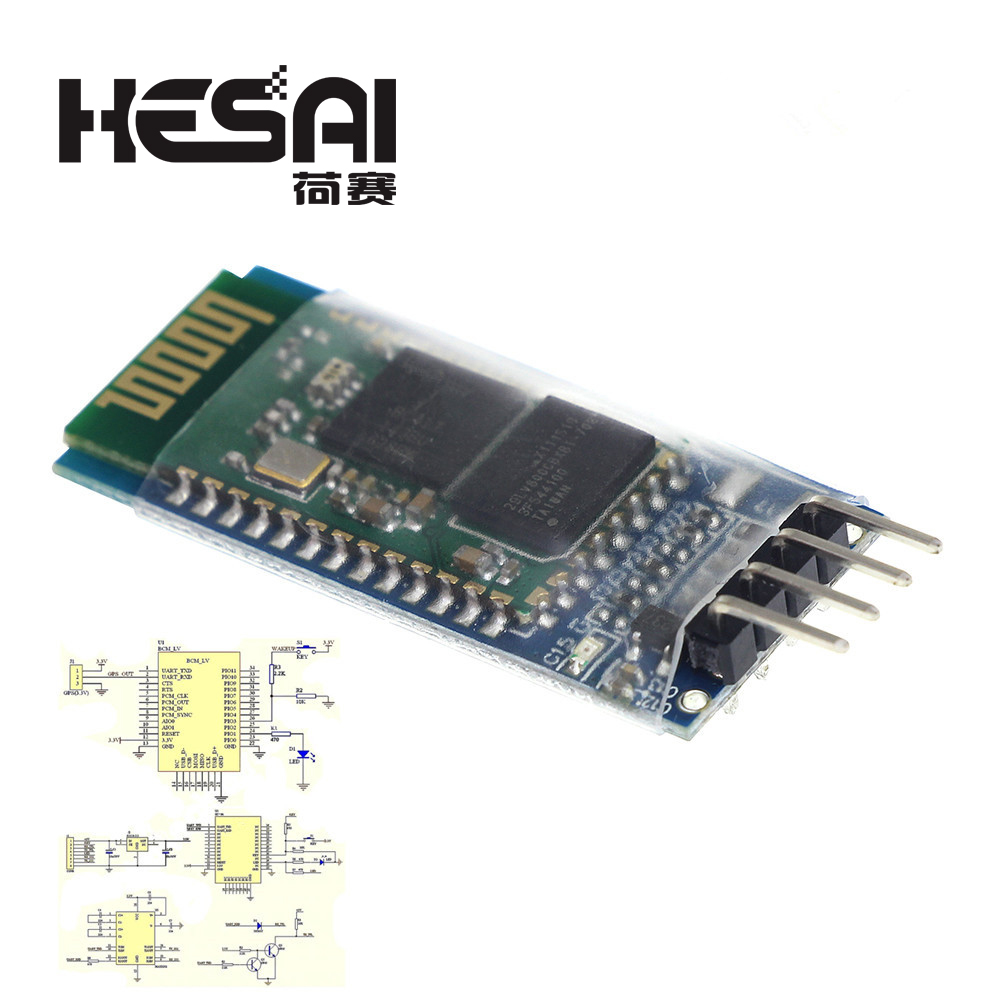 HC-06 Bluetooth Serial Pass-through Module Wireless Serial Communication <font><b>HC06</b></font> Bluetooth Module for <font><b>arduino</b></font> Diy Kit image