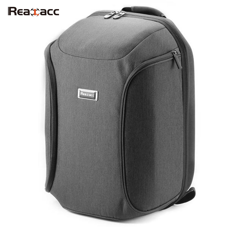 Realacc Waterproof Wear-resistant Backpack Carrying Handbag Bag Case For  FPV Quadcopter Drone Shipping From USA spark storage bag portable carrying case storage box for spark drone accessories can put remote control battery and other parts
