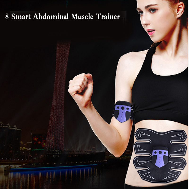 NEW Smart Abdominal Muscle Trainer Body Building Fitness Equipment massager Building Fitness ABS for Abdomen Arm Leg Training 3pcs set wireless intelligent abdominal muscle trainer lacy body massager fitness equipment for home use for women hot sale