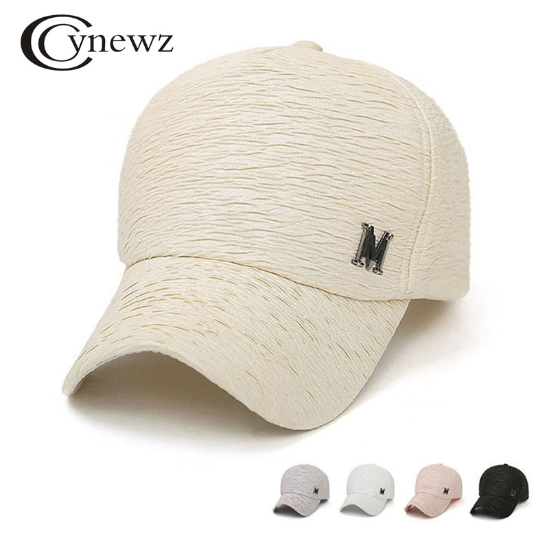 New 2018 Branded Baseball Cap Women Snapback Caps Hip Hop Wrinkle Design Solid Casual Fashion Caps Hats Summer Cool Sun Hat