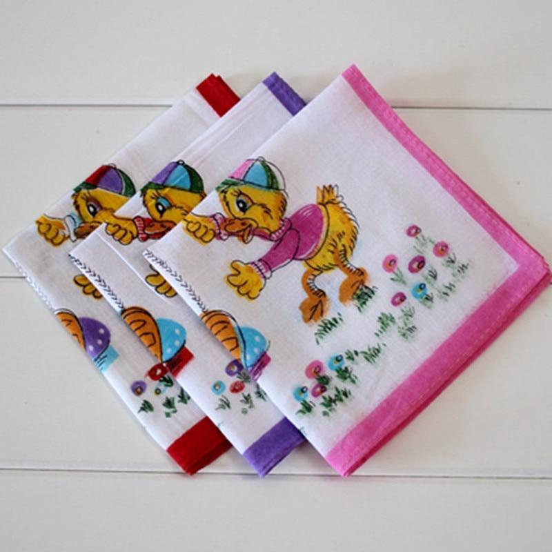 Children's Handkerchief Cotton Animal Panda Swing Soft And Comfortable Cotton Child Handcuffs 10Pcs/Lot