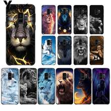 Yinuoda Starry dier leeuw wolf Luxe Unieke Ontwerp Telefoon Case voor Samsung Galaxy S9 plus S7 rand S6 rand plus s5 S8 plus case(China)