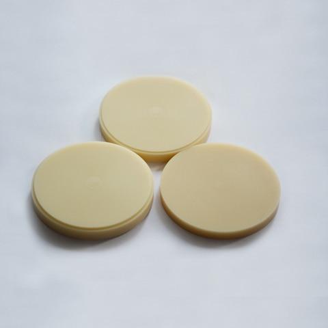 7 pcs lote 98 10mm disco moagem cad cam dental pmma em branco para dental