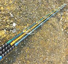 Новое поступление тяжелых металлов rod1 шт./Лот 1.8/2.1 м материал frp лодка удочки телескопические/моря удочка