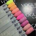 12/Conjunto de Colores de Esmalte de Uñas En Polvo Polvo 3D Sugerencia Herramientas Decoración de Uñas de Arte Polaco Manicura Del Polvo Del Polvo Joya Decoración