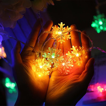 Christmas Tree Snow Flakes Led String Fairy Light