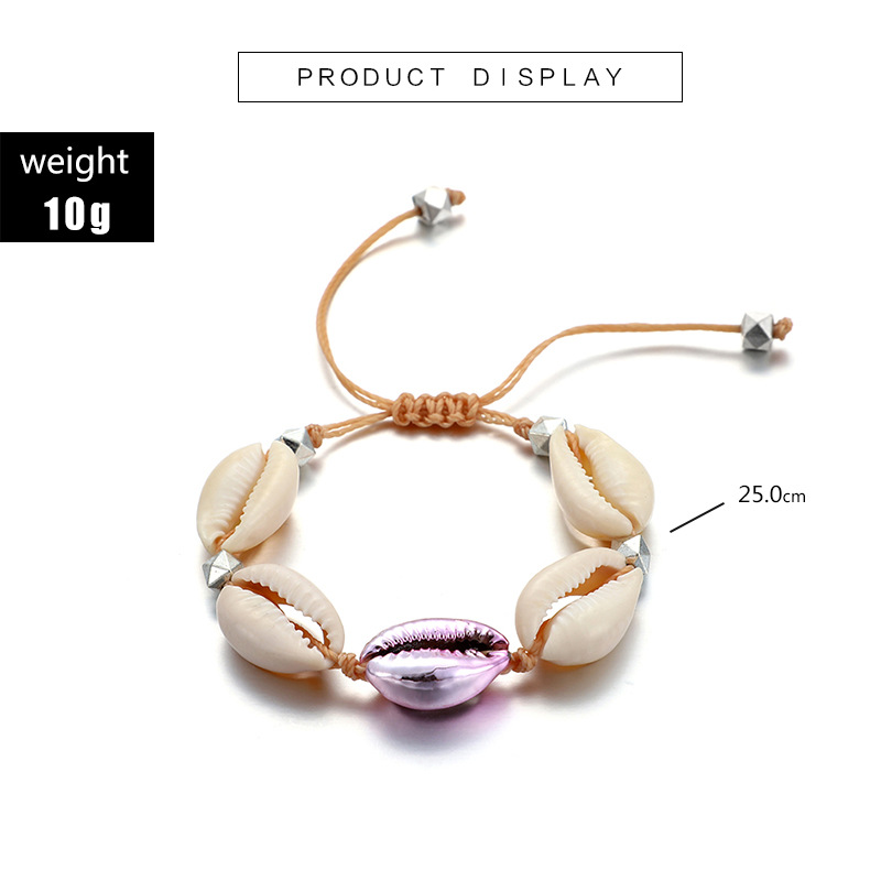 Anklets Aor Women Shell Foot Jewelry Summer Beach Barefoot Bracelet Ankle On Leg Ankle Strap Bohemian Accessories Shell Anklets in Anklets from Jewelry Accessories