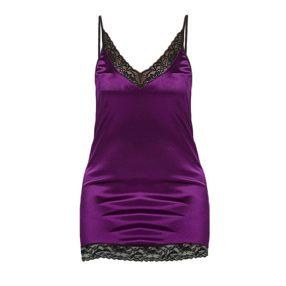 Womens Nighte Dress Plus Size 3XL 4XL 5XL Sexy Lace Lingerie Babydoll Nightwear Sleepwear Sexy Dress 2