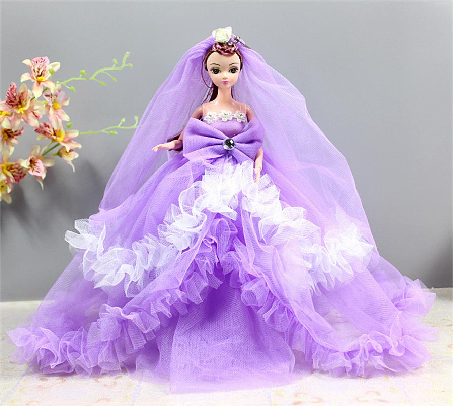 Gifts For Girls On Wedding: Aliexpress.com : Buy 35cm Beautiful Silicone Wedding Dress