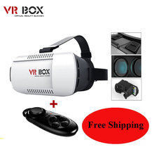 2016 Google cardboard VR BOX Pro Version VR Virtual Reality 3D Glasses For 3.5 – 6.0 inch Smartphone+Bluetooth Controller 1.0