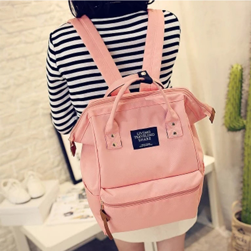 2016 quality big 16inches students computer backbag travelling shoulder bag casual backbag girls canvas camouflage backbag