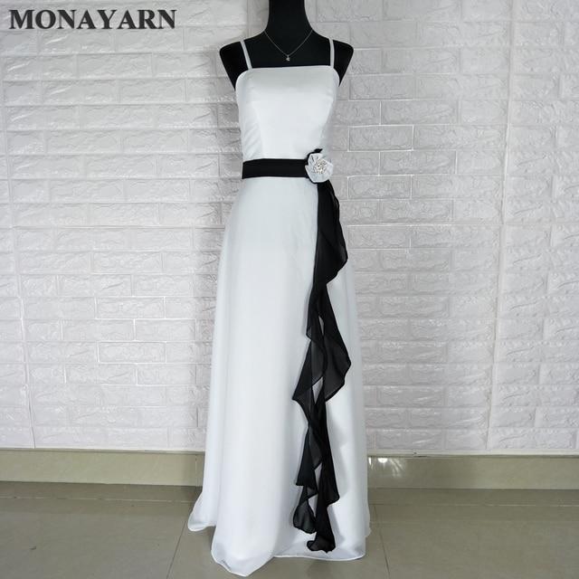 Sexy mode lange chiffon brautjungfer kleid lila grün weiß schwarz ...