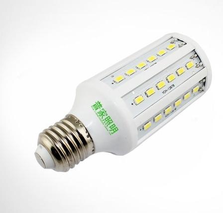 Free shipping E27 15W 60 LED 5630 SMD corn light  Warm White/ Cool White led Bulb Lamp 220V light