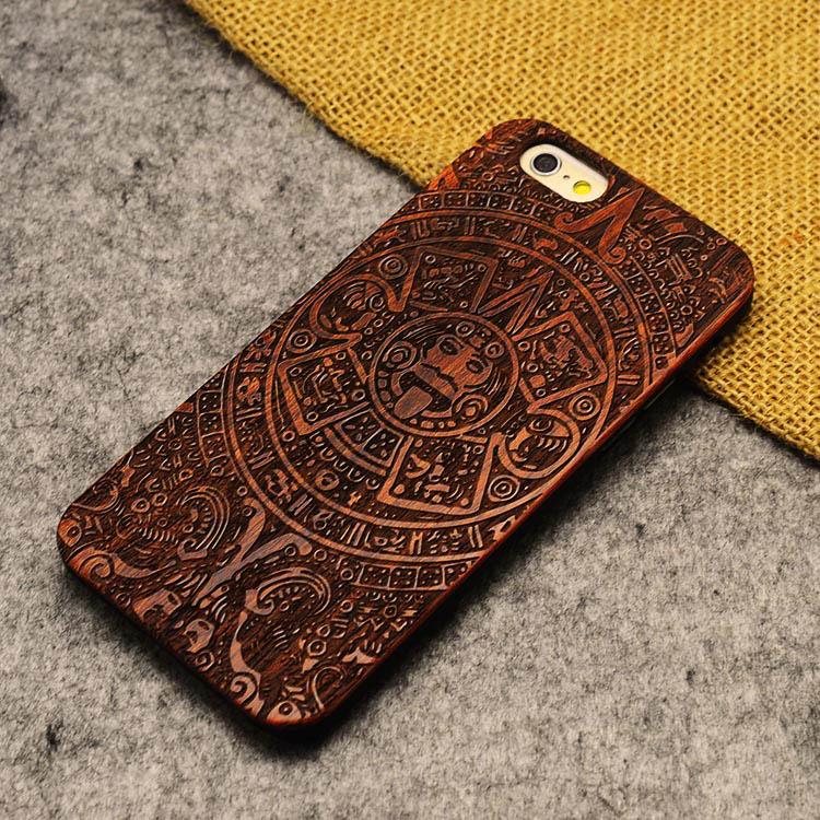 U & i marka cienki luksusowe natural wood telefon case for iphone 5 5s 6 6 s 6 plus 6 s plus 7 7 plus pokrywa drewniane wysokiej jakości, odporna na wstrząsy 21