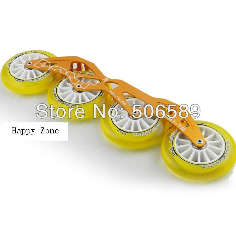 Livraison gratuite patins de vitesse roues et cadres 165mm 195mm