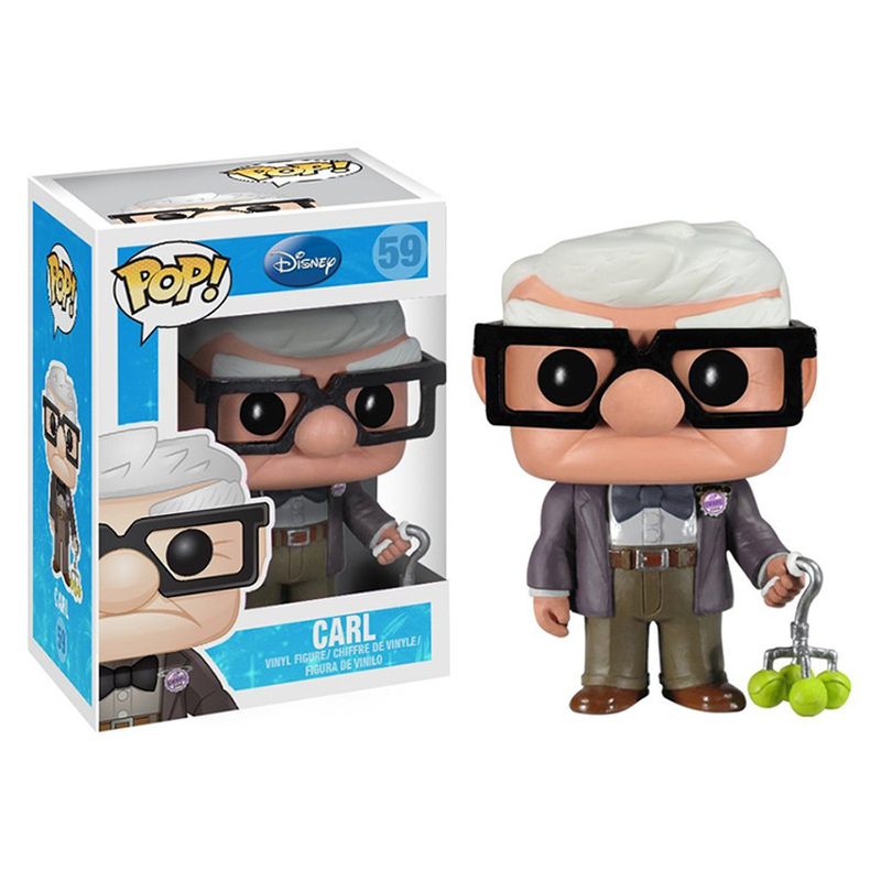 Funko POP UP Movie Figures Carl PVC Action Figure Cartoon Toys Model Collection Kids Gifts Dolls With Box 10CM