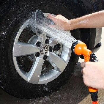 Садовый шланг 25-200FT расширяемый волшебный гибкий садовый шланг для воды для автомобиля шланг трубы пластиковые шланги для полива с распылит...