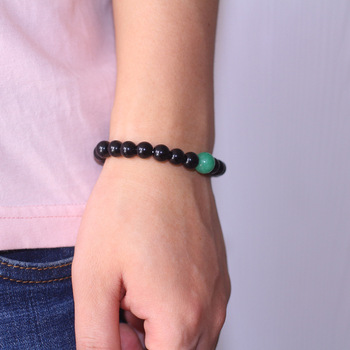 Aventurine Verte Bracelet Homme