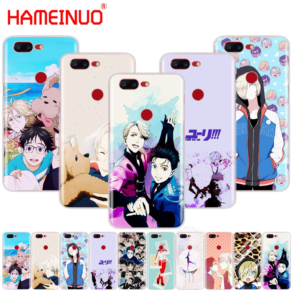 HAMEINUO yuri on ice history maker cover phone case for Oneplus one plus 5T 5 3 3t 2 X A3000 A5000