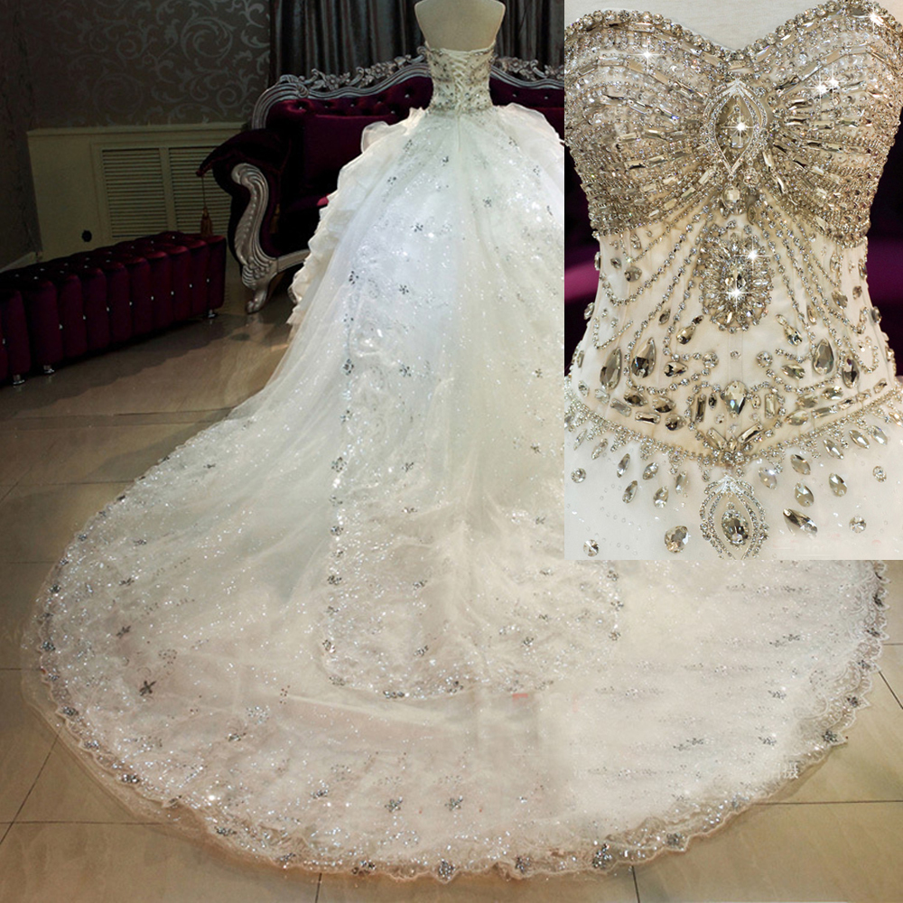 bling princess wedding dresses bling wedding dresses Princess Wedding Dresses Discount Real Photos Tulle Wedding Dresses