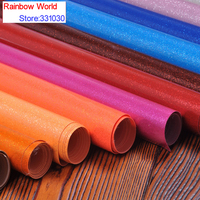 100 138cm 9colors High Quality Shiny Vinilic PU Leather Fabric For DIY Car Ecotate Shoes Bags