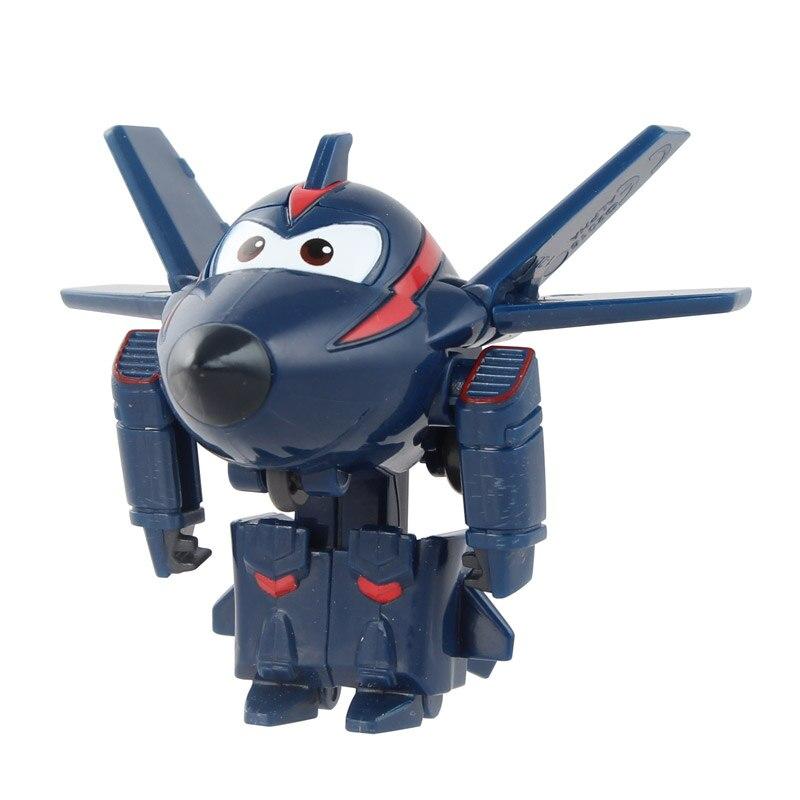 12 стилей, мини Супер Крылья, деформация, мини реактивный ABS робот, игрушка, фигурки, Супер крыло, трансформация, игрушки для детей, подарок - Цвет: No box Chase