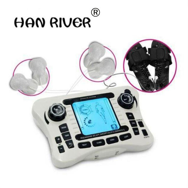 High quality Dual channel output tens of thousands of pain nerve muscle stimulator digital physical body massager hot selling hwato computer random pulse acupuncture treatment instrument smy 10a nerve and muscle stimulator tens 10 channels output ce appr
