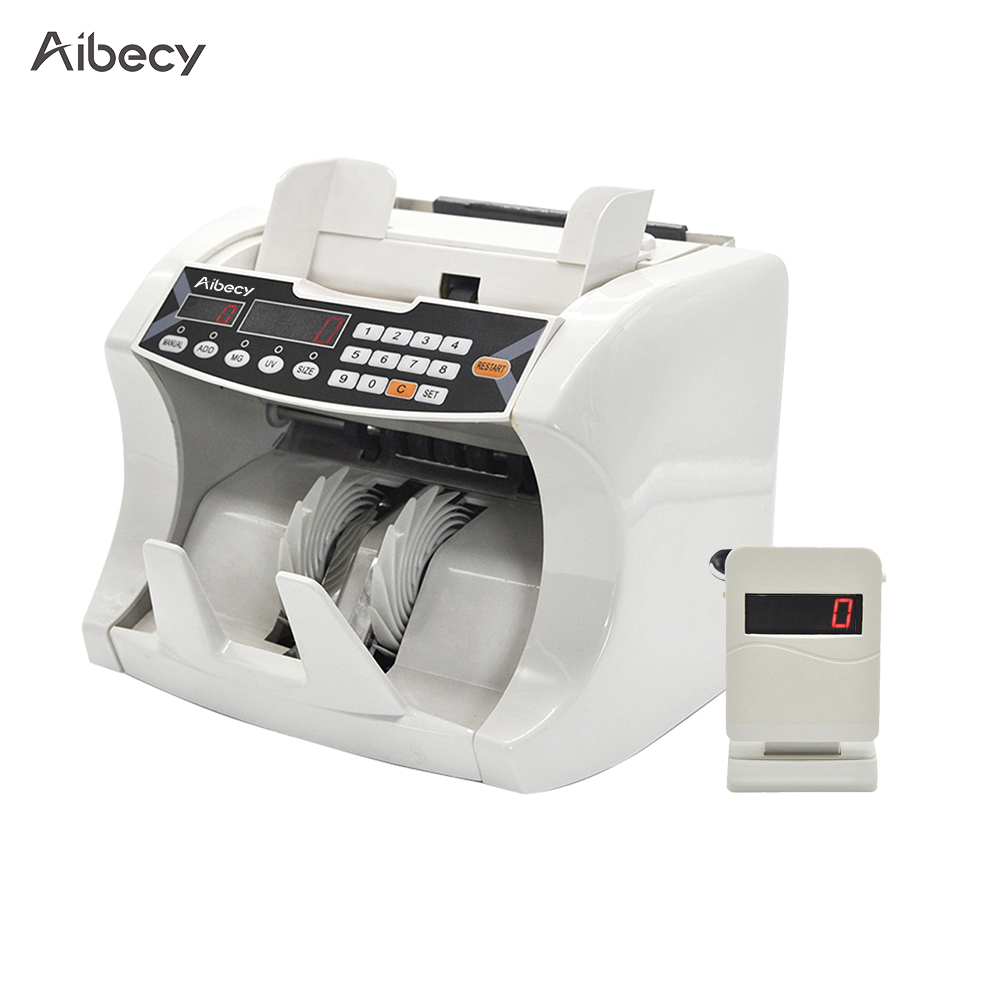 Aibecy Money Counter Cash Banknote Money Bill Counter