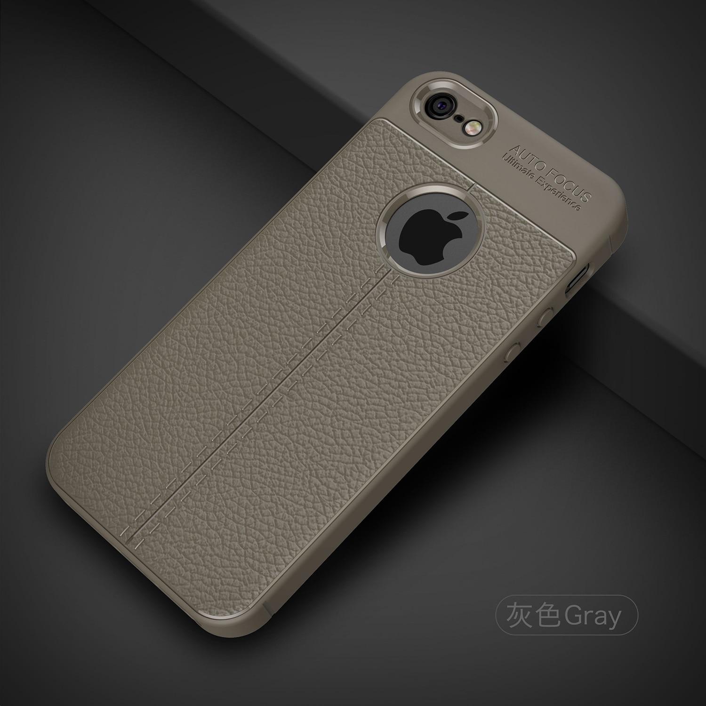 Shockproof Luxury Leather Soft iPhone Case 9