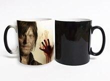 The Walking Dead Daryl Was Here Heat Sensitive Mug