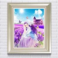2016 алмазный вышивка сделай песни алмазный живопись вышивка крестом фиолетовый павлин картина 5d рукоделие алмазный мозаика украшение дома